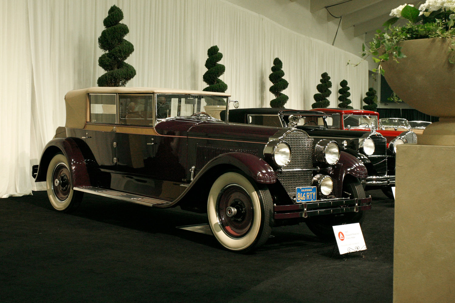 1927 Packard 8 Model 343 Convertible Sedan