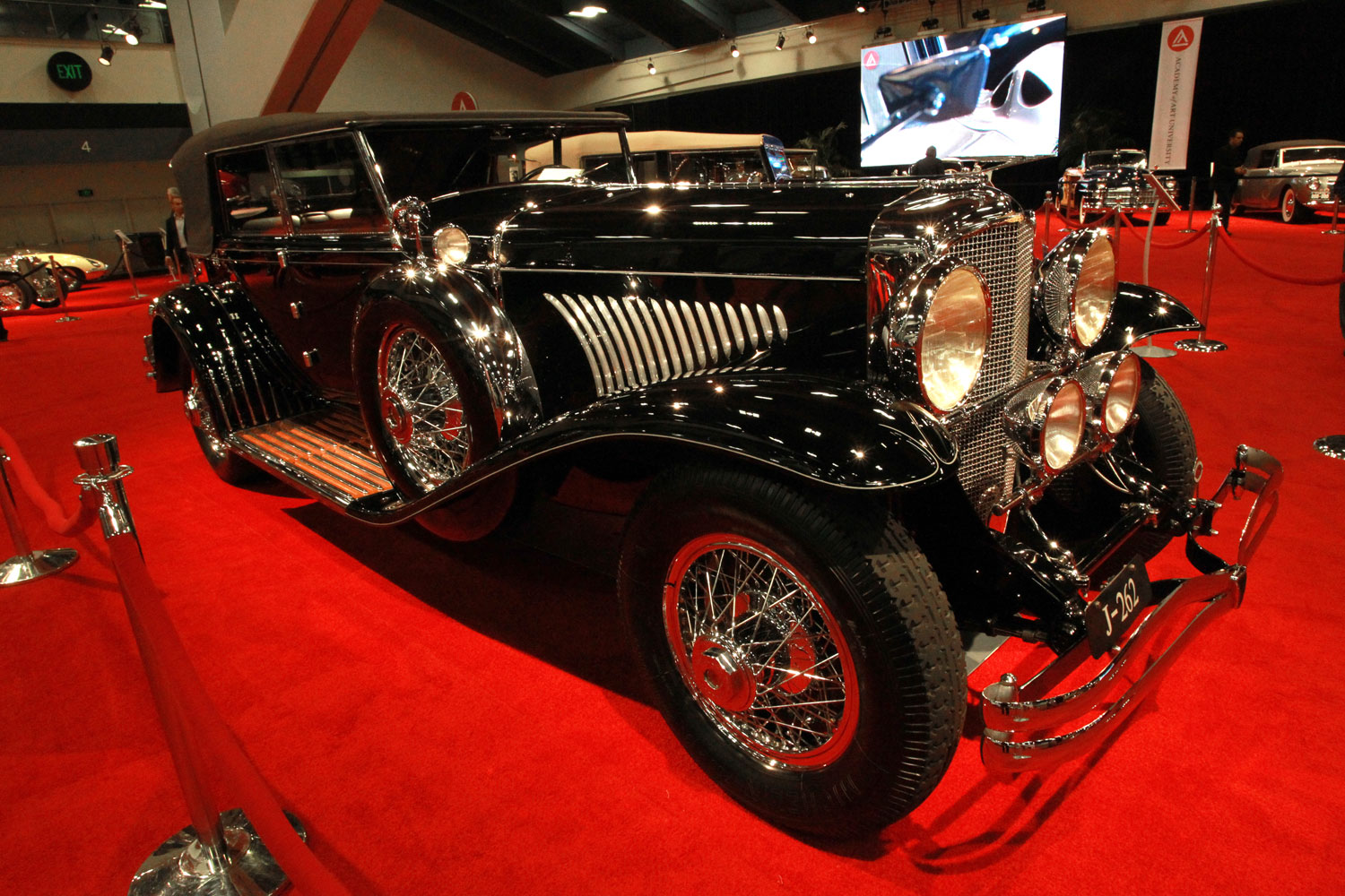 1929 Duesenberg Model J Convertible Sedan