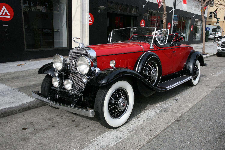 1931 Cadillac V8 Roadster