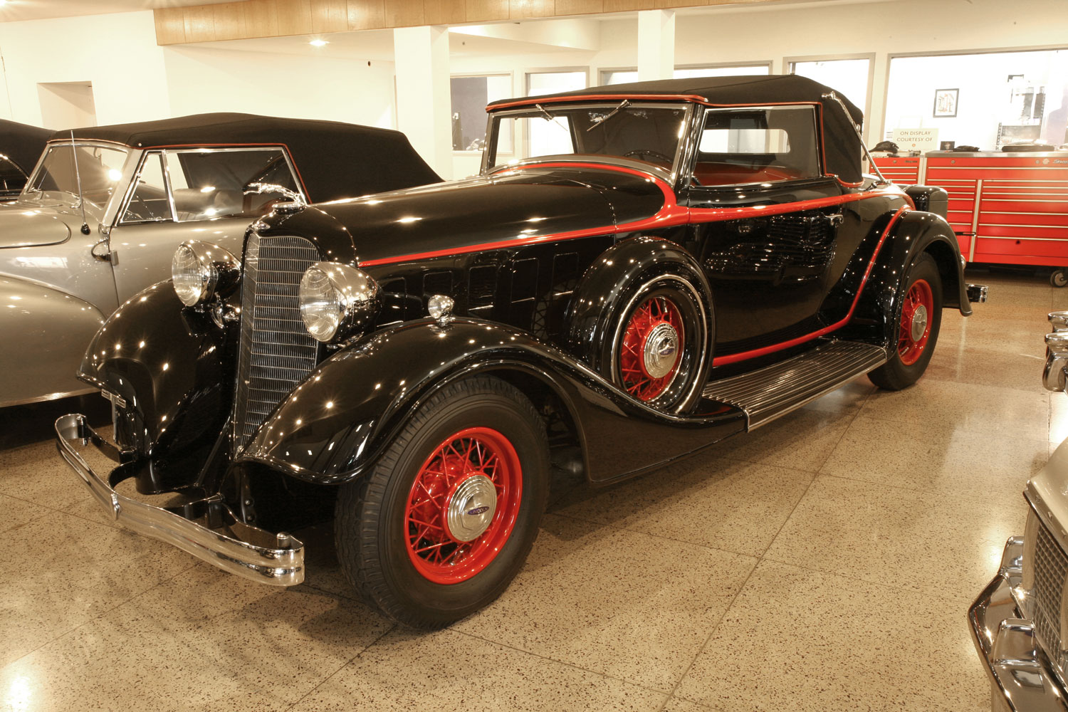 1934 Lincoln KA Convertible Coupe