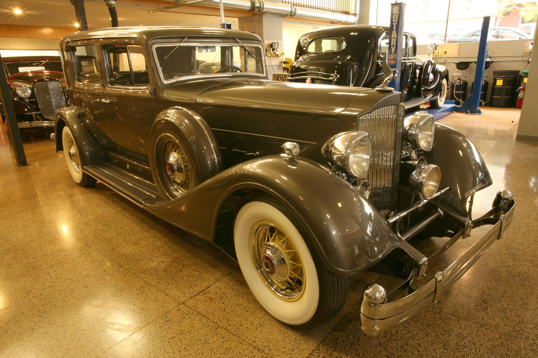 1934 Packard 12 Model 1107 Club Sedan