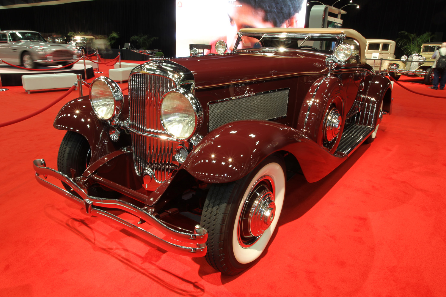 1935 Duesenberg SJ Walker-LaGrande Convertible Coupe