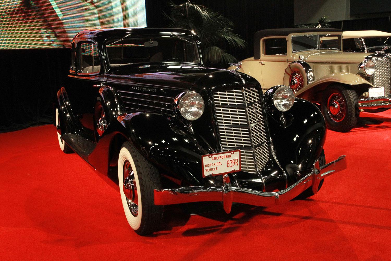1935 Auburn 851 SC Sport Coupe