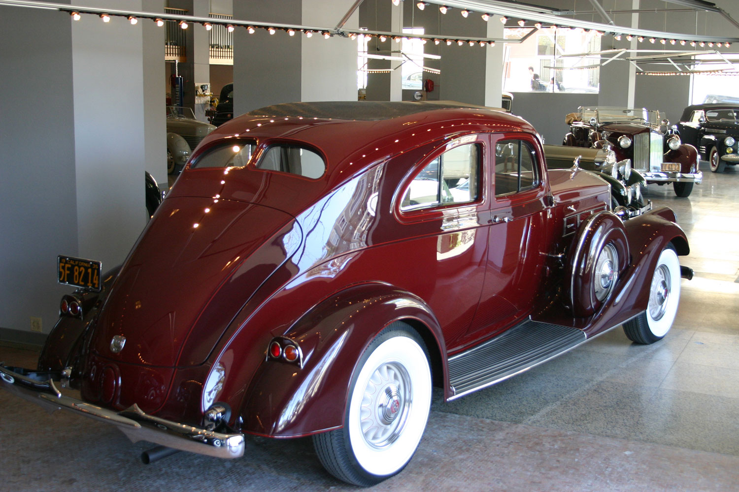 1935 Pierce-Arrow 12 Silver Arrow Coupe