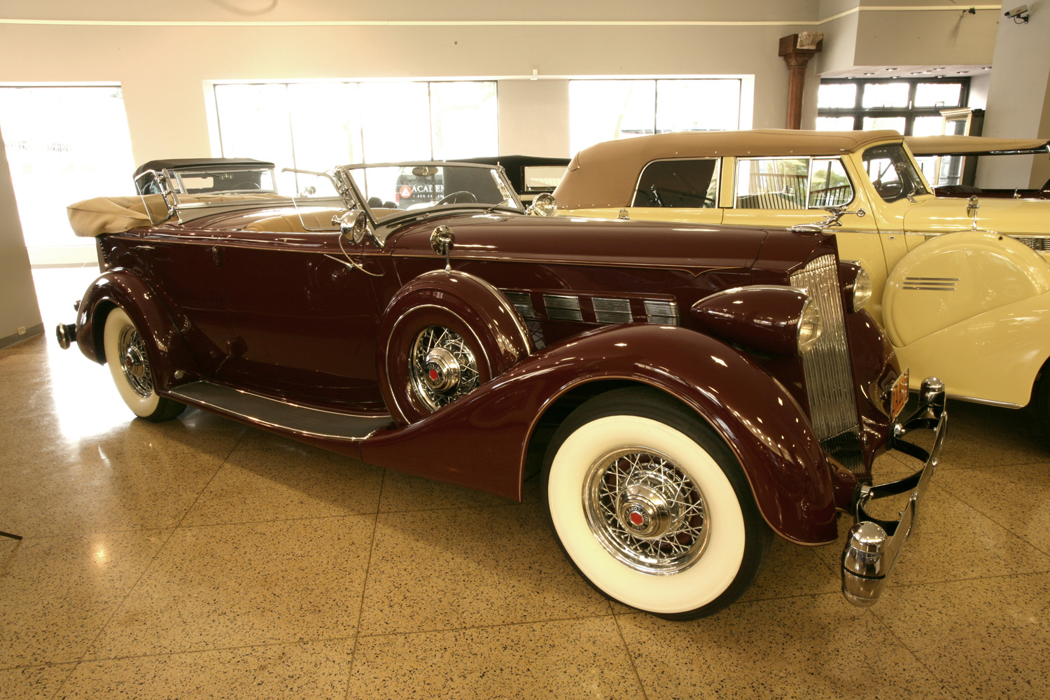 1936 Packard Super 8 Model 1404 Sport Phaeton
