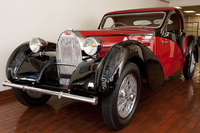 1937 Bugatti Type 57 Atalante Coupe