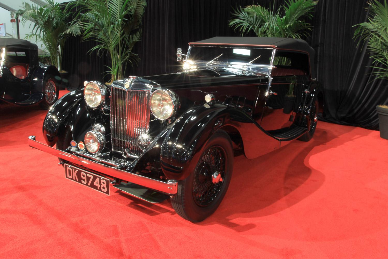 1937 MG SA Tourer