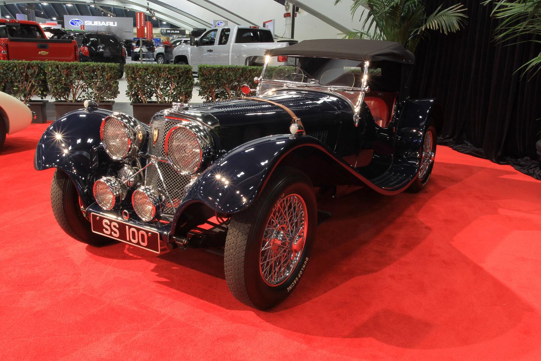 1938 Jaguar SS100 3.5 Liter Roadster