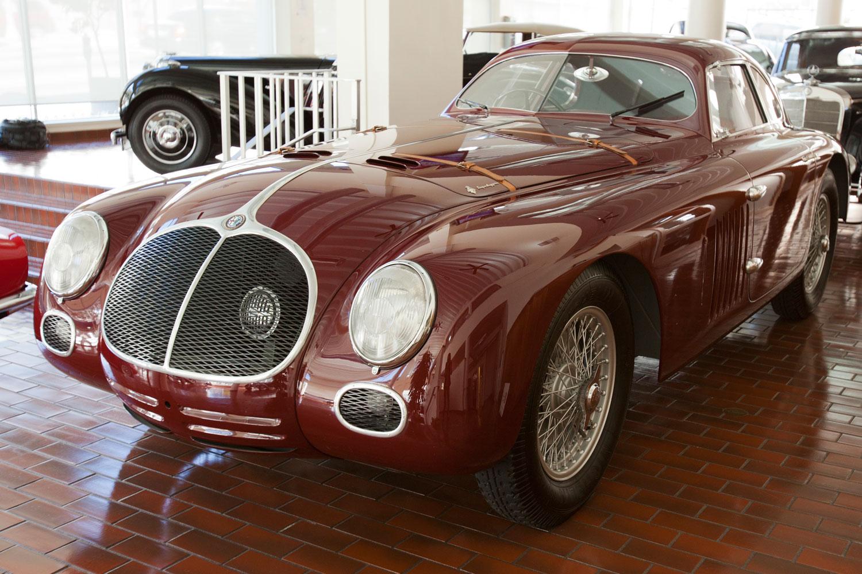 1939 Alfa Romeo 6C 2500 SS Berlinetta Aerodinamica