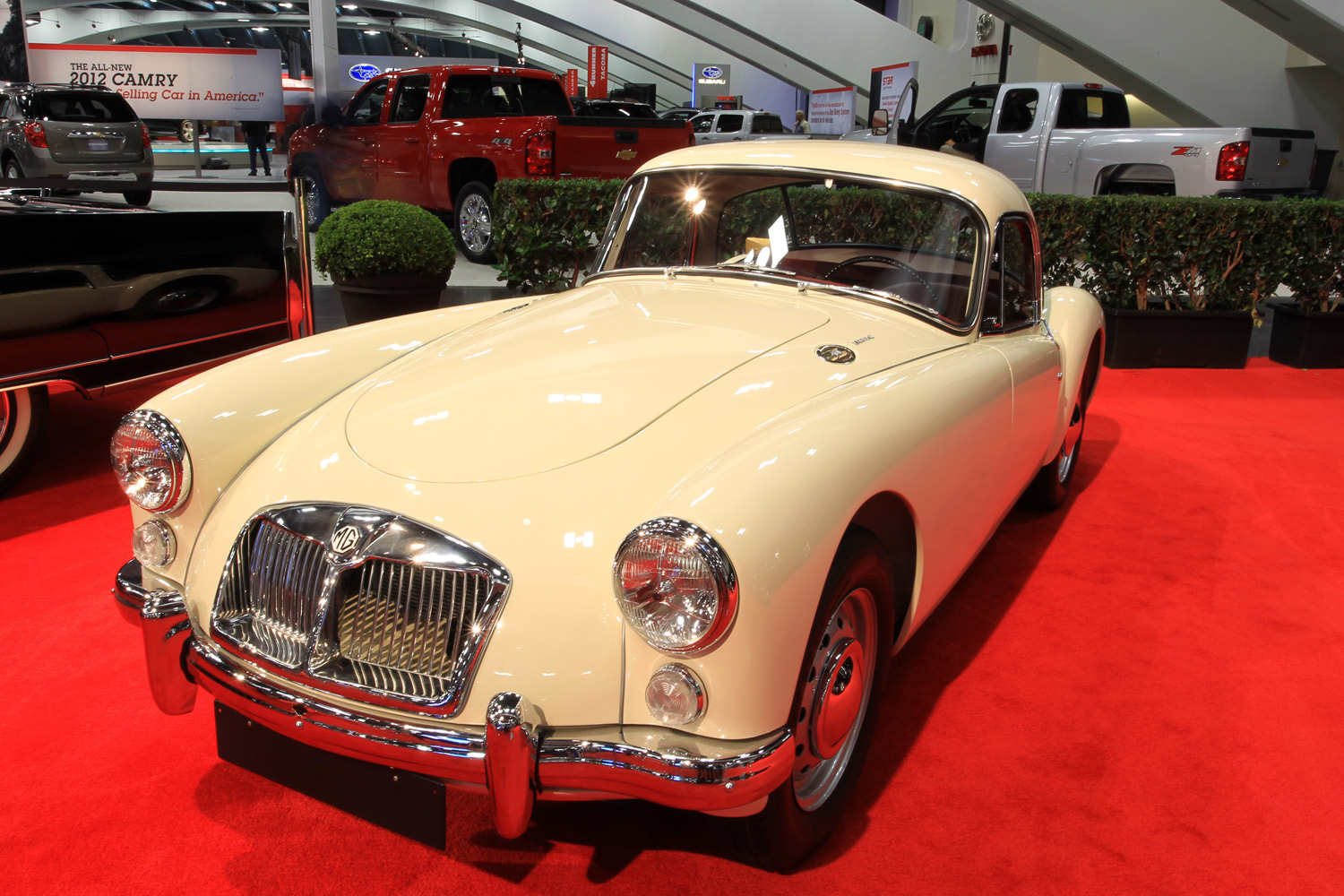1962 MG A 1600 Mark II Coupe