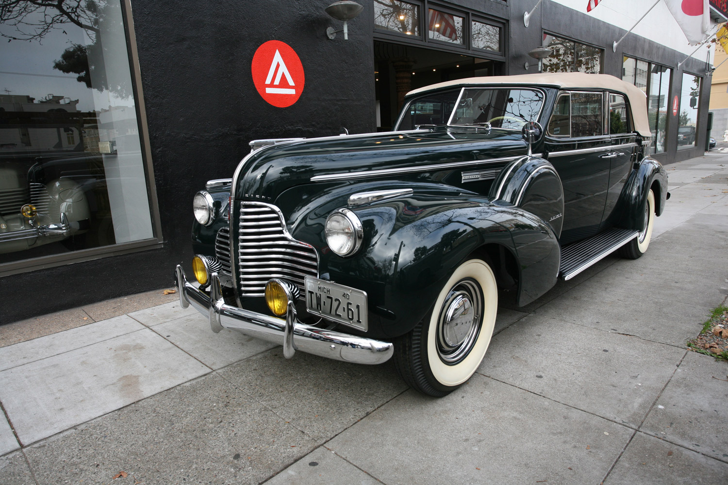 1940 Buick Limited Model 80C Convertible Phaeton