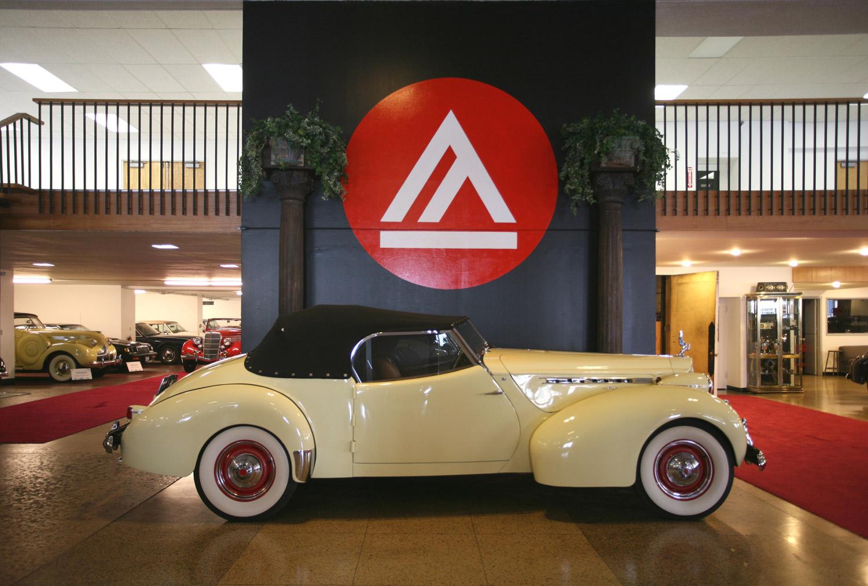 1939 Packard Super 8 Darrin Convertible